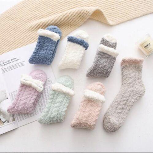 Fuzzy Socks Women's
