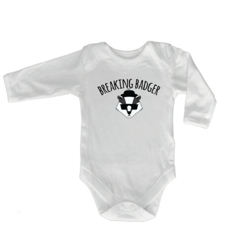 FUNNY BABY Infants Babygrow ange combinaison-Breaking Badger
