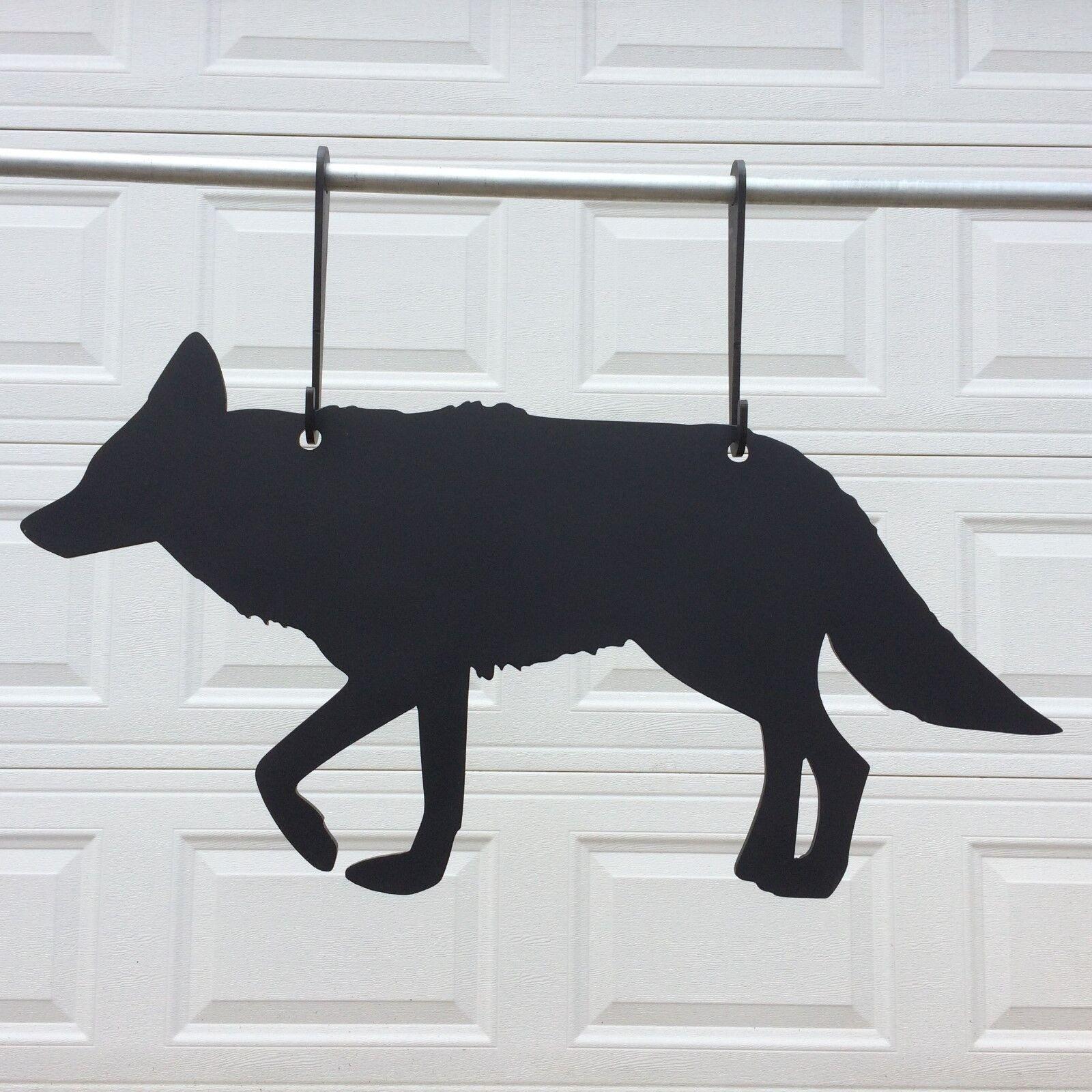 Gong de destino de acero AR500 Coyote 3 8  de espesor