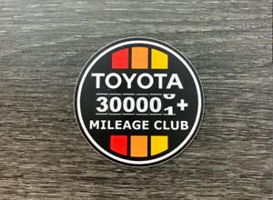 Toyota Sticker Decal 300k Mile Club Tundra Tacoma 4x4 4runner FJ Cruiser4WD 4X4