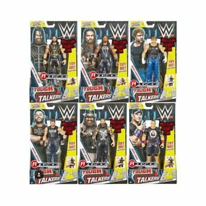 WWE Tough Talkers Action Figure 100% Brand New