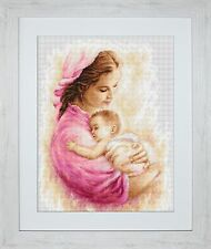 ArtGoblen/Luca-S Counted Cross Stitch Kit – Mother with Child 1