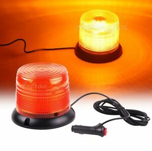 25W-Amber-LED-SMD-Emergency-Beacon-Warning-Signal-Rooftop-Forklift-Strobe-Light