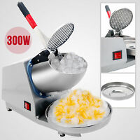 143lbs Ice Crusher Ice Shaver Machine Snow Cone Maker Shaving Summer Cool W/bowl