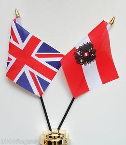 United-Kingdom-Austria-State-Eagle-Double-Friendship-Table-Flag-Set