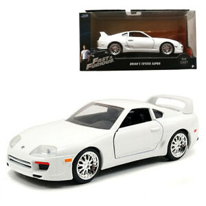 Jada-1-32-Fast-amp-Furious-Die-Cast-Brian-039-s-Toyota-Supra-Car-Model-Collection