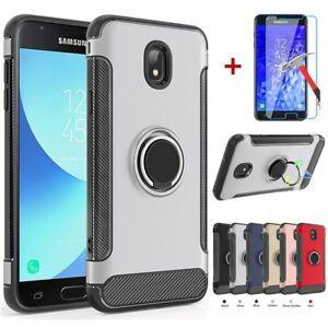 Samsung-Galaxy-J3-V-2018-Achieve-Star-Express-Amp-Prime-3-Case-Tempered-Glass