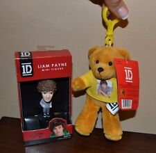 """LIAM PAYNE One Direction 1D Mini Figure & 6"""" Backpack Clip Officially Licensed"""