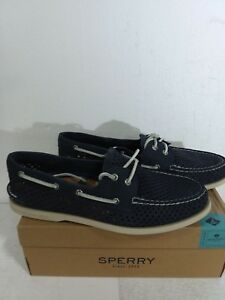 Chaussure Oeil Topsider Hommes 2 Marine Nouveau Cuir Taille Mens 13 o Sperry A Daytona aqxtUSFw