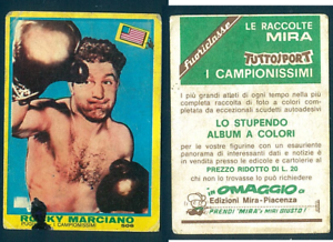 Rocky-Marciano-USA-Mira-Boxing-CARD-1968-Good-n-506-Rare-Campionissimi