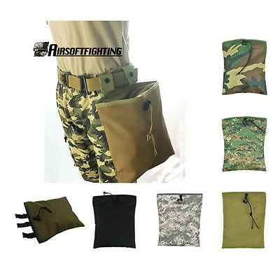 Paintball Airsoft Molle Tactical Magazine DUMP Drop Tool Pouch Bag Hunting Case