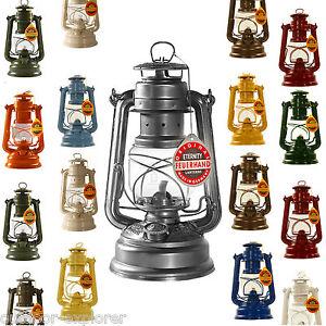 FEUERHAND-Sturmlaterne-276-Petroleum-Lampe-Docht-Laterne-viele-Farben