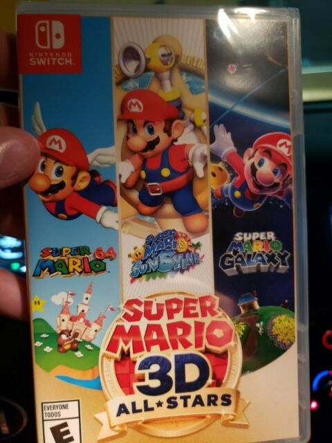 Super Mario 3D All-Stars - Nintendo Switch - Brand New Ships Same Day