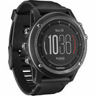 Garmin Fenix 3 HR Sapphire Gray GPS Watch W/ Stainless Steel Band. Br1