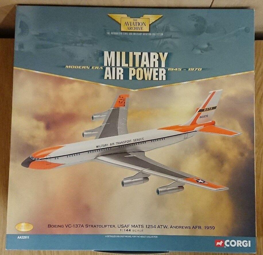 CORGI aa32911 Boeing vc-137a stratolifter USAF Andrews AFB Ltd Ed. 0001 of 1900