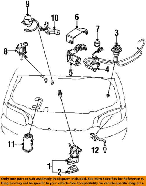 1994-1997 Honda Accord 1995-1998 Honda Odyssey 1996 Prelude OEM 02 on