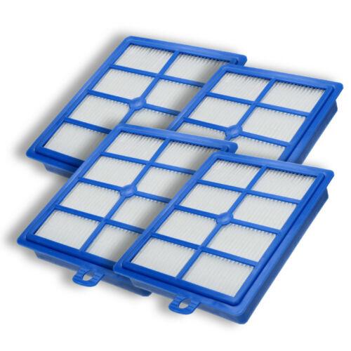 4x Hepafilter H13 Luftfilter Allergie Filter passend für Philips FC9161