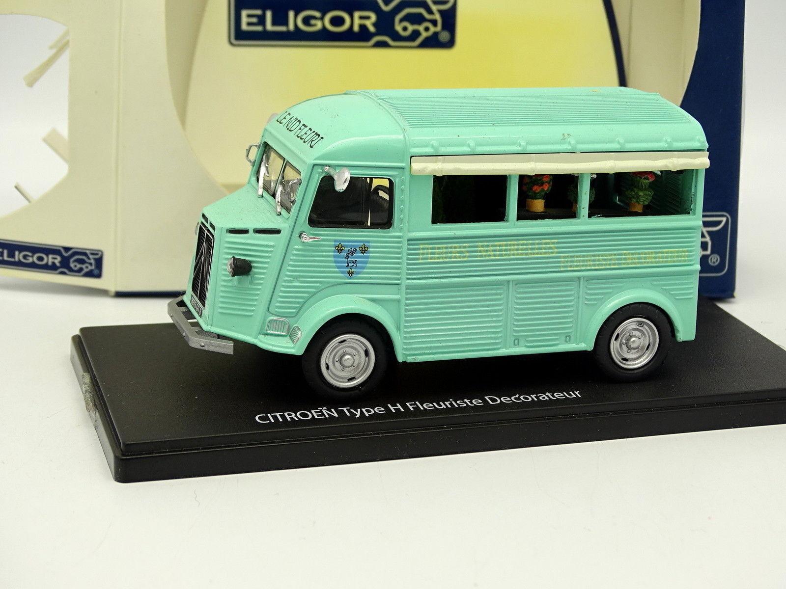 Eligor 1 43 - Citroen Art H bluemengeschäft Laden- Straßenhändler