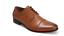 Men brown tan comfortable business dress shoes brand new in box