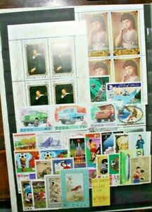 KOREA-COREA-30-DIFFERENT-STAMPS-2-BF-TIMBRATI-USED-LOT-CAT-SC