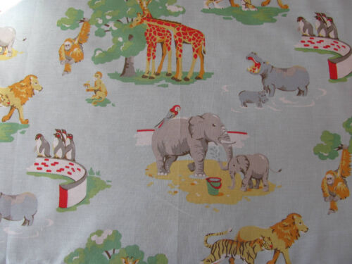 FQ 50 cm Square Zoo Animaux /& Taches Rouge Léger Neuf Cath Kidston Bundle 2
