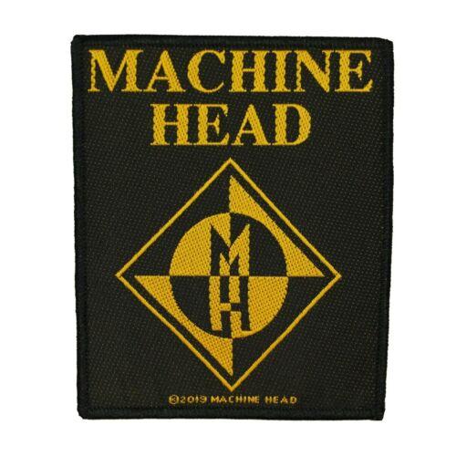 Machine Head Diamond Logo Patch Heavy Metal Rock Band Sew On Applique