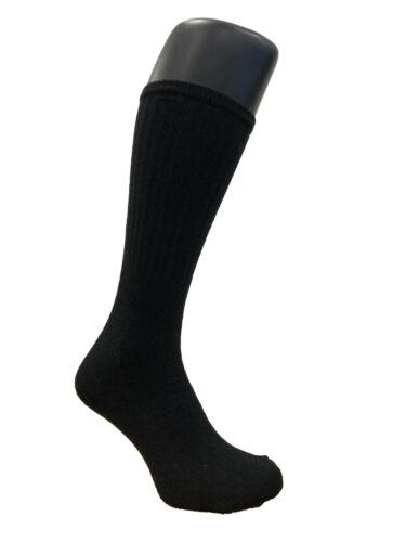 10,20,30 Pairs Men/'s Black Cotton Rich Sports Crew Socks 7-12
