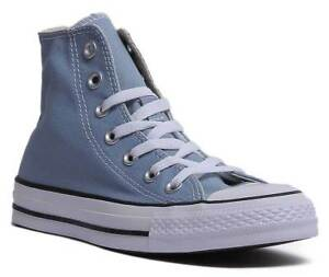 232754963041a4 Converse Chuck Taylor All Star Women Canvas Washed Denim High Top ...