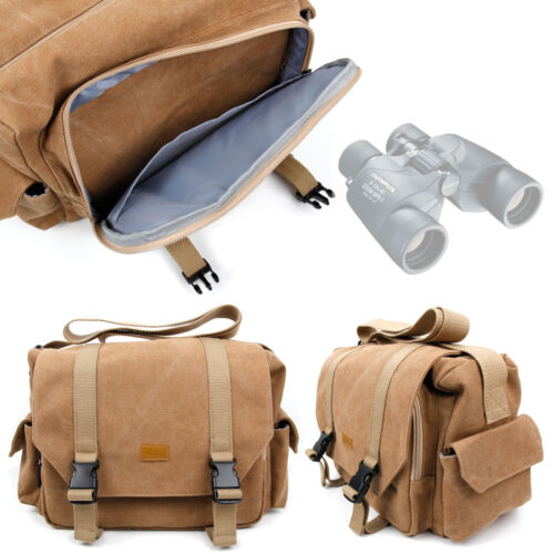 Large Canvas Bag for Olympus 8x40 DPSI, 10x50 DPS1, 8-16x40 Zoom DPS I Binocular