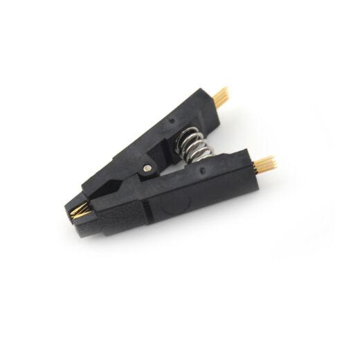 Schwarzer Programmierer-Testclip SOP8 Pin SOIC8 DIP8 IC Test Clamp  cbHV