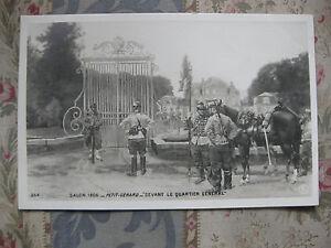 CPA-tableau-Salon-peinture-1906-Petit-Gerard-le-quartier-general-militaire