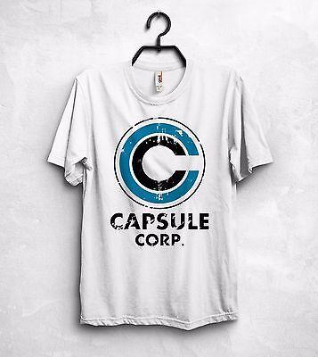 Coraggioso Capsule Corp Corporation T Shirt Top Breve Bulma Hoi-pdi Dragon Ball Son Goku-mostra Il Titolo Originale