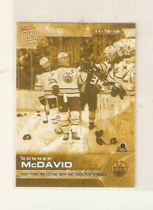 CONNOR-McDAVID-2019-20-TOPPS-NOW-GOLD-STICKER-52G-OILERS