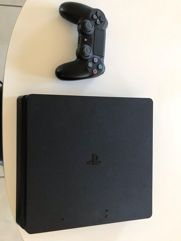 Playstation 4, Slim 500 gb, Perfekt