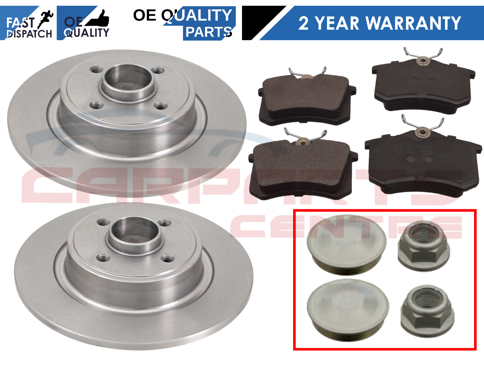 RENAULT GRAND SCENIC FRONT AND REAR BRAKE DISCS /& PADS WHEEL BEARINGS ABS RINGS