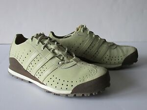 Details about Adidas Daroga Khaki Brown Leather Light Hiking Trail Shoes Women's US 6.5M