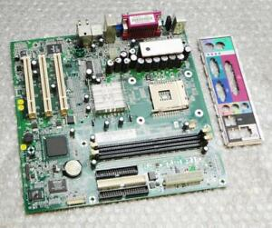 Dell 7W080 07W080 Socket 478 / mPGA478B Motherboard & IO Back Plate - Bluford2