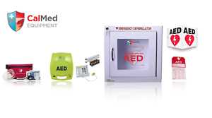 Details about Zoll AED Plus Semi Automatic AED Business/School/ Value  Package -New
