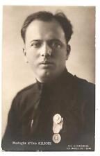 Medaglia d'Oro IGLIORI  WW1-Impresa di Fiume - Fascismo Camicie Nere - A.S.ROMA