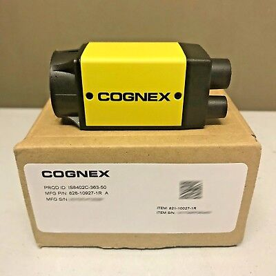 Knap New Cognex In-sight Is8402c-363-50 Color + Patmax Micro Vision System Is8402c