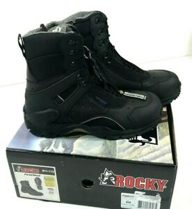 NEW-ROCKY-MEN-039-S-911-113-FIRSTMED-1ST-MED-WATERPROOF-COMPOSITE-TOE-BOOT-8-M-BLACK