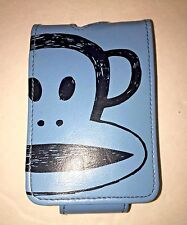 Paul Frank Blue Julius MP3 or Phone Holster w Belt Clip, Flip Cover Velcro Clasp