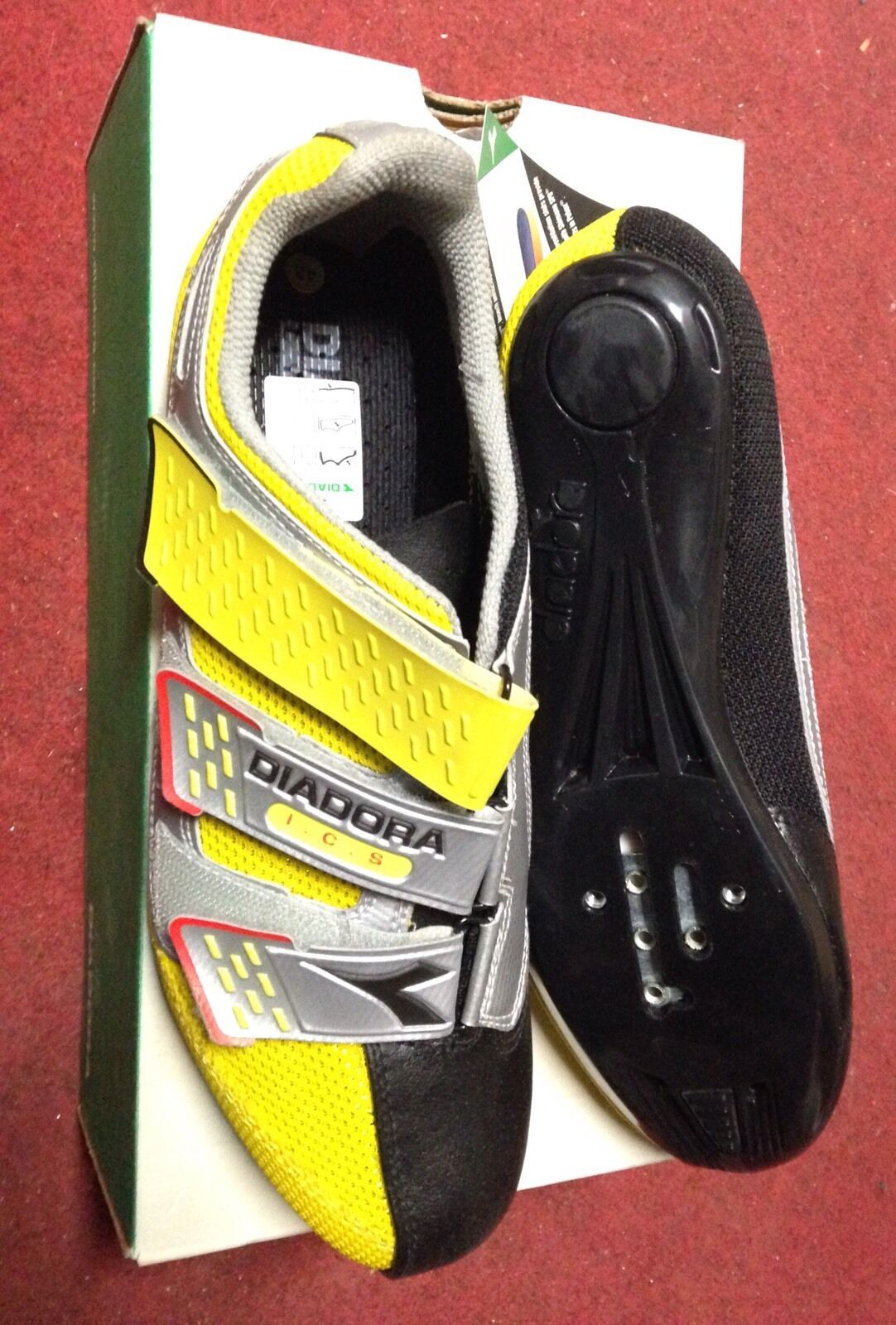 Scarpe Bici Corsa Diadora Leggera Road Bike scarpe 43