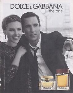 One Parfum Gabbana Presse Détails The Publicite Dolceamp; Sur Coupure Magazine Advert MqzpUVGS