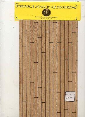 Bello Pavimenti Foglio - 7152-58 Formica - Quercia 90 Sq.in. Miniatura 1:12 Scala Usa