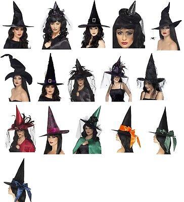 Il Prezzo Più Economico Donna Ragazze Varie Halloween Streghe Cappello Costume Dolcetto O Scherzetto Hen Do-mostra Il Titolo Originale Buon Sapore