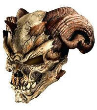 Halloween Cave Demon Mask Skull Skeleton Latex Scary Adult Costume Accessory