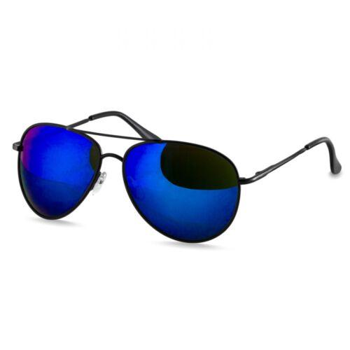 CASPAR SG013 Damen Herren Sonnenbrille Pilotenbrille Fliegerbrille verspiegelt