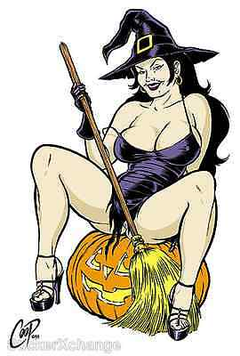 Witchy Poo STICKER Decal Poster Artist Coop CP52