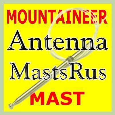 "Mercury MOUNTAINEER AM//FM Power Antenna MAST 1998-2001 Stainless Steel /""NEW/"""